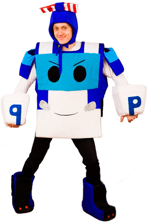 Робокар Полли аниматор