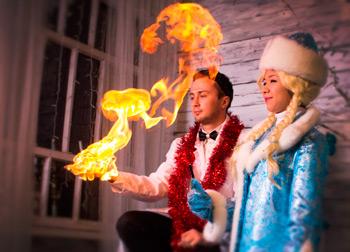 Химическое шоу мороз и пламя