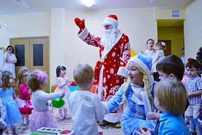 Заказ Деда Мороза в детский сад