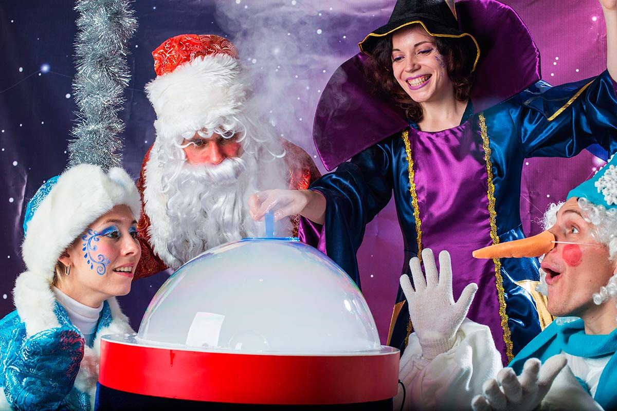 Новогодний спектакль для детей 2 - 7 лет