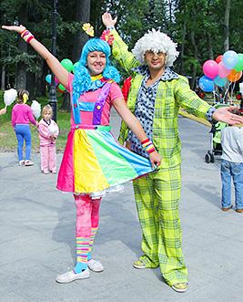 Клоуны на выпускной в детский сад