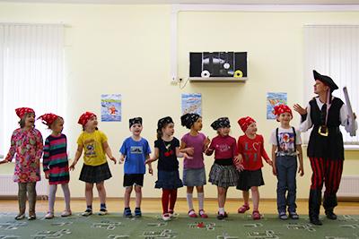 организация пиратского выпускного в детском саду