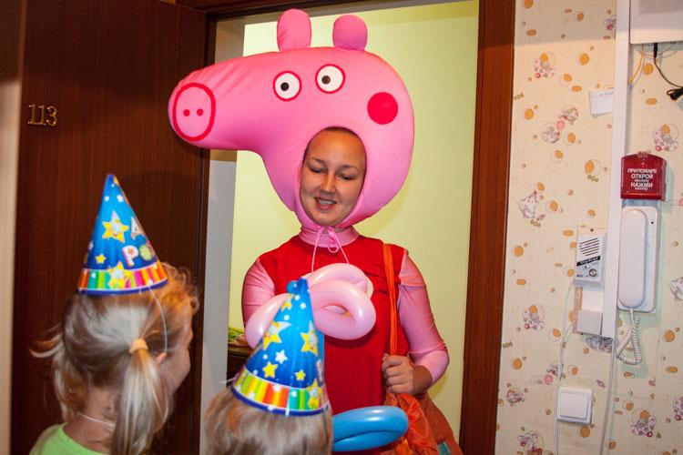 Аниматор свинка Пеппа на дом
